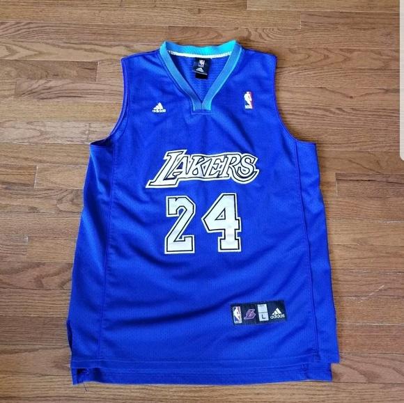 cb6607c3b7f adidas Shirts | Kobe Bryant Lakers Jersey Size L Blue | Poshmark